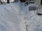sidewalks with walls!