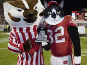 Duffy at the Badgers Game 10/11