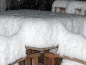 1 foot of snow in Applegate