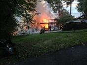 Fire in port Douglas