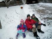 First Mequon Snowfall December 2010