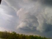 Ring (funnel) cloud over Charlotte, vt