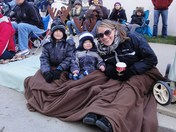 Holiday Parade 11-17-12 Me and my boys