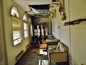 Damaged And Rotting Room In The Ft. Howard VA Hospital Building