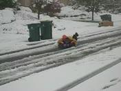 Snow in El Dorado Hills