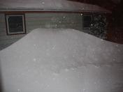 Oak Creek, WI Snow drifts