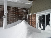 Snowbound Patio