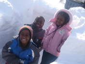 huge snow