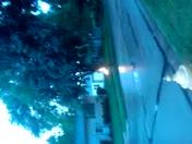 Waukesha lightning strike on gas line