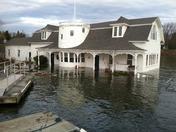Valcour Boathouse Flooding