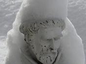 St. Francis' Snow Shroud