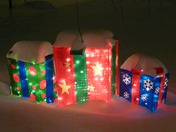 Lighted Gift Boxes