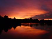 Flaring Sunrise
