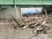 Platte River under Hwy 50 Bridge