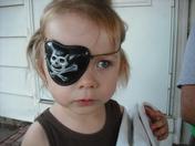 my little pirate....zoe