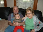 mom, me and mason