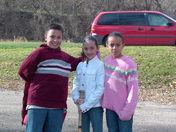 Leo,Angie and Shaylene