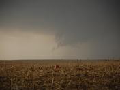 A wall cloud south of Grenta, Nebraska