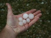 Gretna hail, round one!