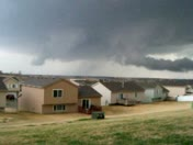 """Wall cloud & scuds"" March 23, 2009"