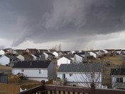 Looking SW from 78th & Sorensen