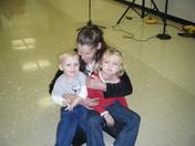 my mom and her grandkids