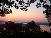 Beaver Lake at sunset