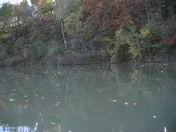Boating Lee Creek w Daisy
