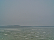 Truman Lake on Ice