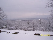 snnowy southern view