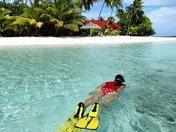 Me on Holiday at the Maldive Island - beautiful place!