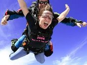 My first jump!! YIKES!