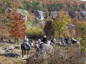 Equantum Horsemanship Trail Ride