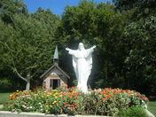 christ statue in grove ok