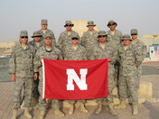 Go Huskers from Afghanistan