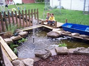 Kids Play Pond Area
