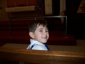 Our 6 Year Old Son At Church