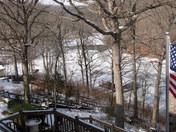 Beaver Lake Cove Frozen Over