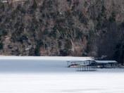 Beaver Lake Frozen Over 1/2 mile S. War Eagle Marina