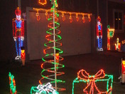 Holiday Lights at 150th and Meredith