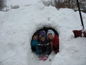 Snow Fort!! 2