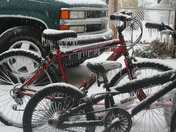 Bicycle with Ice cycle