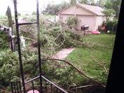 Storm damage 7-14-2010