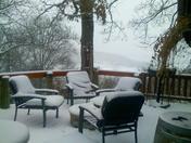 Snow in SW Missouri