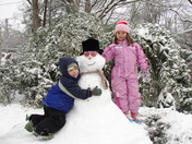 Saturday Snowman