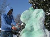 Snow Dinosaur2