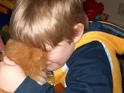 Sam loves his Kitty!