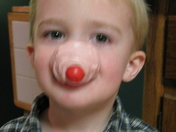 I have a red nose too!