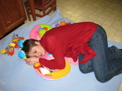 Big girls need naps too!