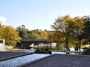 Autumn morning in Omaha at Gene Leahy Mall 10-9-10